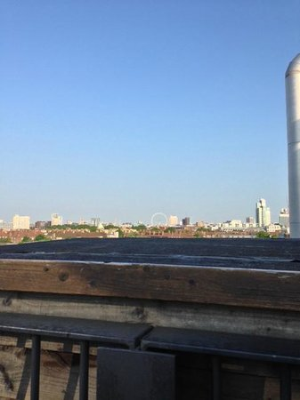 The Bermondsey Square Hotel: View from hot tub
