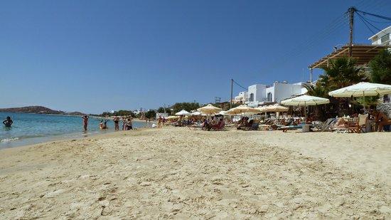 Iria Beach Art Hotel: Agia Anna beach