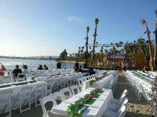 Bahia Resort Hotel: Private Beach Event