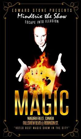 Fallsview Magic Theatre: Mind Trix the Show starring Edward Stone.