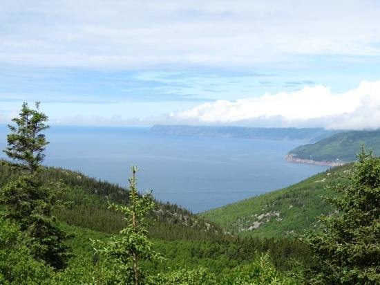 Cabot Trail : point de vue