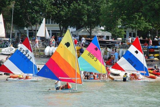 Lakeside Chautauqua: Sail boats