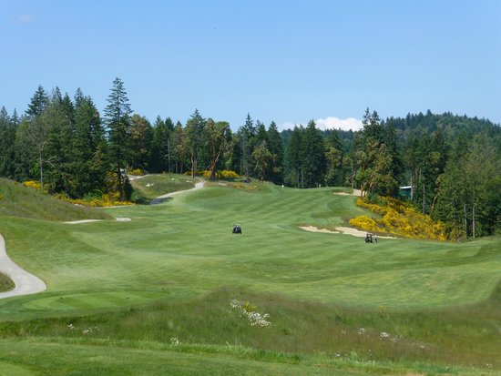 Bear Mountain Golf Resort - Valley Course: Valley Course Hole 1