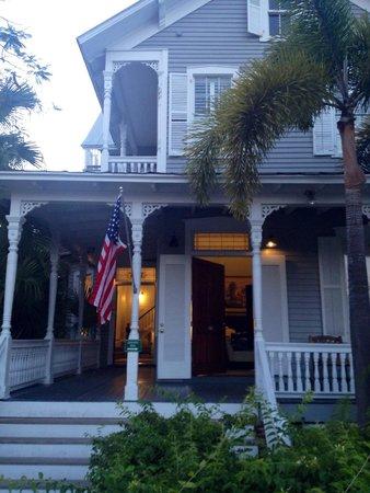 Chelsea House Hotel in Key West : Ingresso visto da Truman dr.