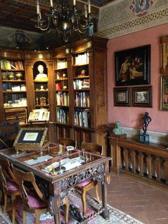 Castelletto di Montebenichi : Reading Room