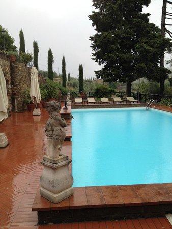 Castelletto di Montebenichi: The pool