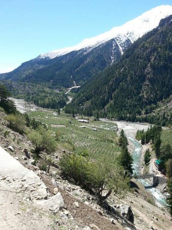 Banjara Camp &  Retreat - Sangla Valley Camp: Birds eye view of the camp