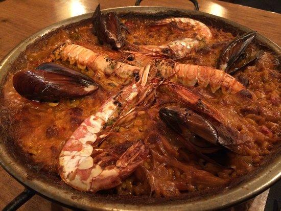 Arrosseria Xativa : Seafood paella