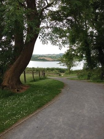 Killyleagh, UK: View from Delamont Country Park