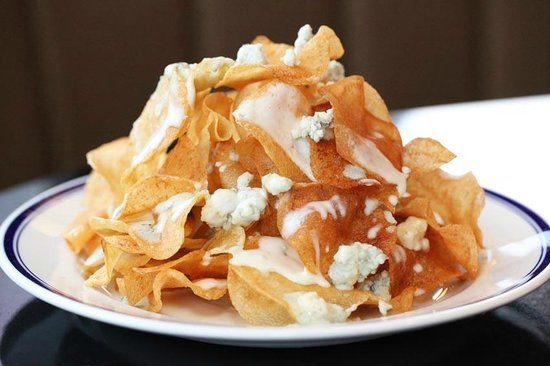 Buckhead Diner: Maytag Blue Cheese Chips