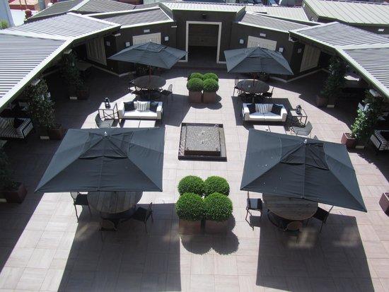 Hotel Granvia: Roof terrace