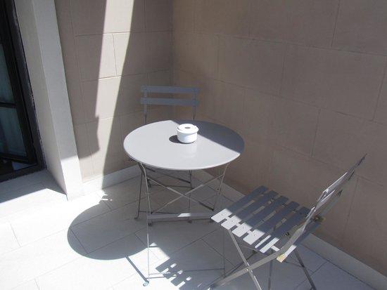 Hotel Granvia: Private terrace