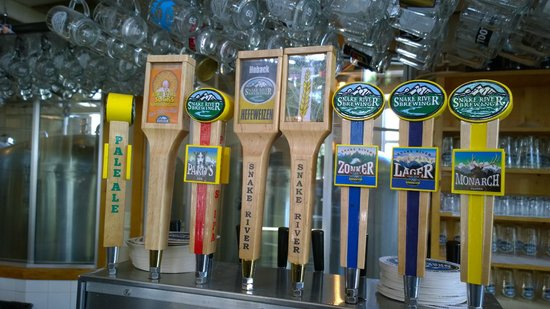 Snake River Brewing: Beer on draft