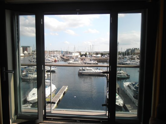 Salthouse Harbour Hotel: view from room 210