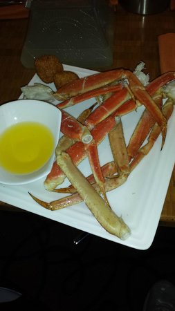 The Buffet at Aria : Crab legs were excellent, though I wish they served salted butter.