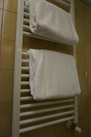 Hotel Palazzo Esedra: Полотенца