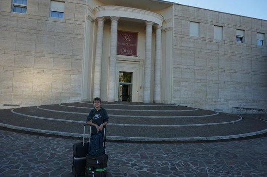 Hotel Palazzo Esedra: Входная группа