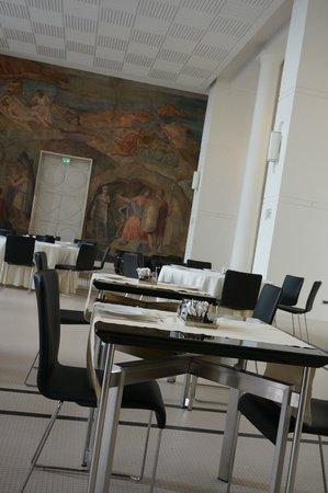 Hotel Palazzo Esedra: Зал для завтрака