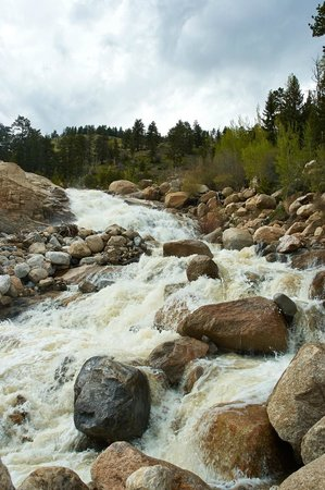 Alluvial Fan : Falls from the bottom