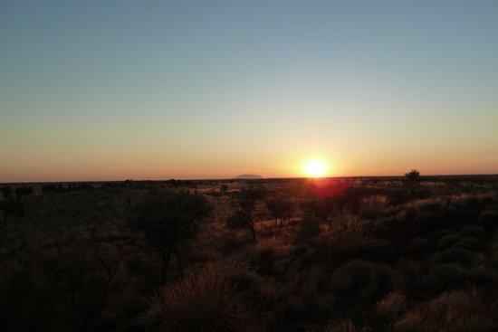 Sounds of Silence Experience : Coucher de soleil sur Ayers Rock