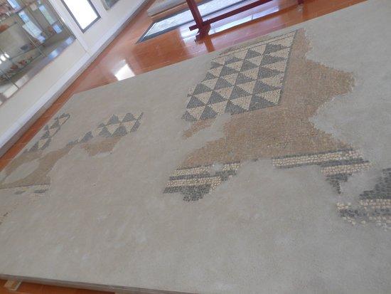 Museo Archeologico Nazionale Antiquarium Turritano: mosaici
