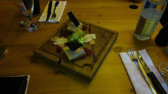 Chez Patoch': Foie gras sur pain d'épice maison.