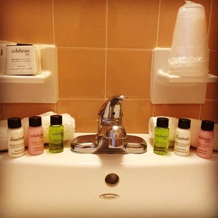 Blue Palms : Love the Philosophy bath amenities!