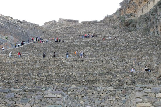 Temple d'Ollantaytambo : Entrada de Ollanta