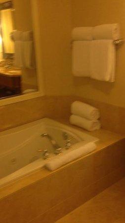 Hyatt Regency Huntington Beach Resort & Spa : the tub in our suite