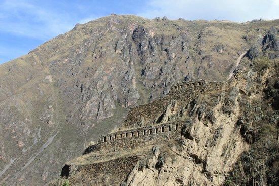 Temple d'Ollantaytambo : Construções que encontramos em Ollanta