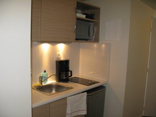 Aparthotel Adagio Access Paris Reuilly: la cucina
