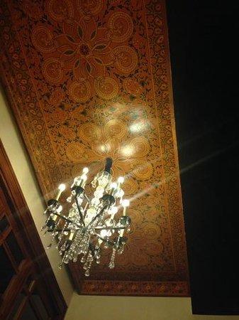 ClubHotel Riu Tikida Palmeraie: ceiling in the bar