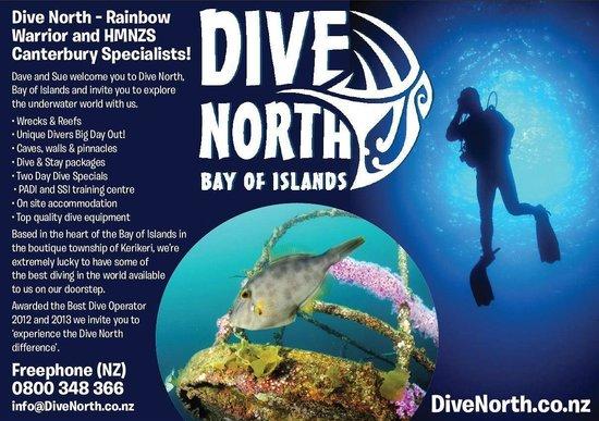 Dive North world class dive trips