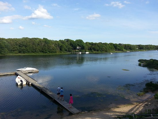 Green Harbor Waterfront Lodging : The view from the terrace