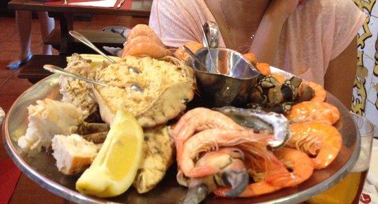 Cervejaria Trindade : Seafood!