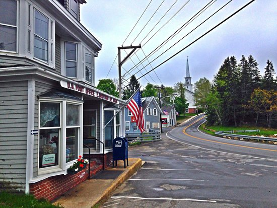 Five Gables Inn : East Boothbay Post Office