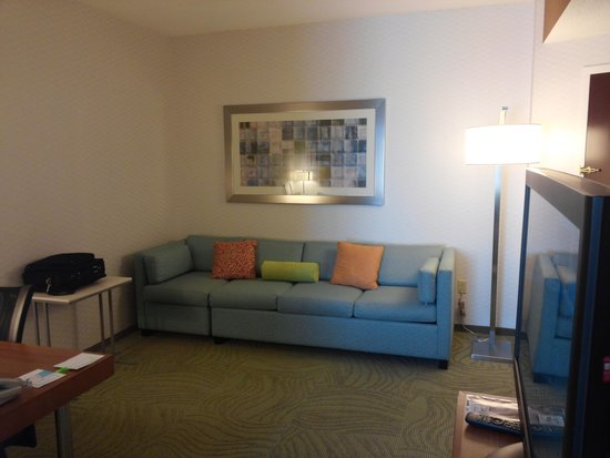 SpringHill Suites Cleveland Solon: Sitting Area