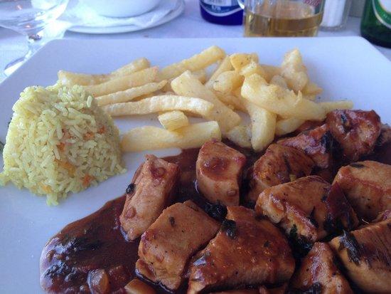 Mario No 1: Volcano chicken - chefs special - gross
