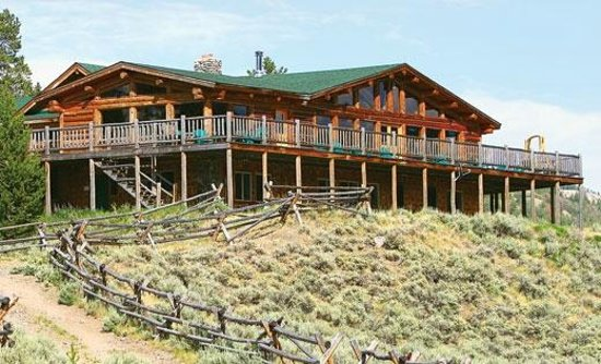 Triangle C Ranch : The main lodge