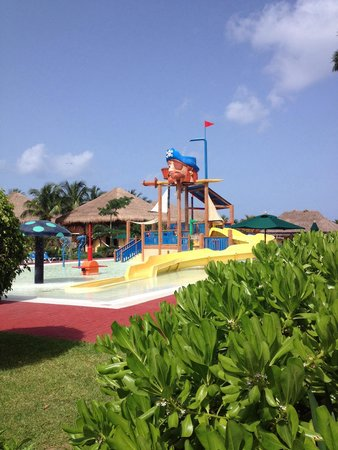 Allegro Cozumel : Water park. Our kids loved this