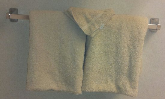 Best Western Clifton Park : Towel very thin