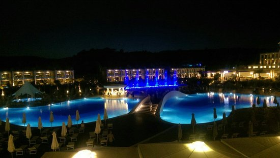 Princess Andriana Resort & Spa : Vista notturna