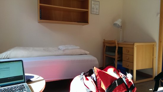 Coal Miners' Cabins: my double room