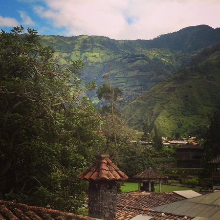 Samari Spa Resort : Coffee and mountains!