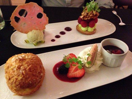 Au pourquoi pas : Desserts fameux !