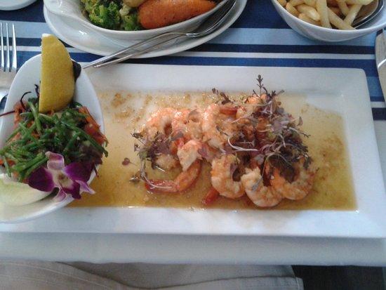 The Guildhall Tavern: king prawn main