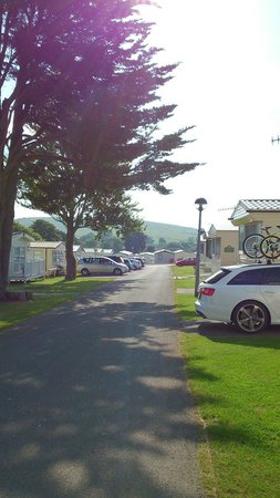 Weymouth Bay Holiday Park - Haven: View from outside our caravan