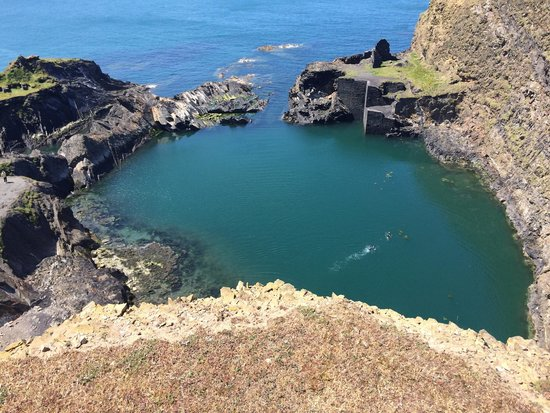 Blue lagoon abereiddy: Blue Lagoon