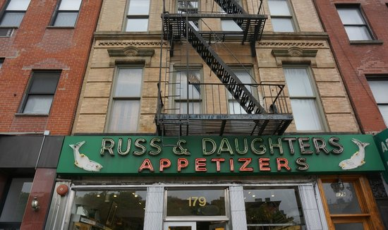 Free Tours by Foot: Wonderful Deli with traditional Jewish offerings, smoked whitefish, lox, bagels, etc.