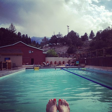 Mount Princeton Historic Bath House & Hot Springs: pool